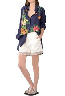 deep-blue-modal-floral-shirt