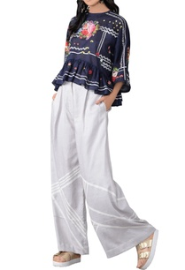 blue-floral-three-dimensional-embroidered-top-pants
