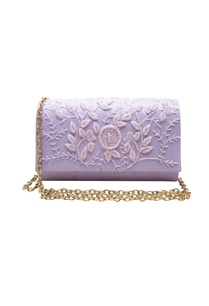 lilac-cutdana-clutch-with-button-closure