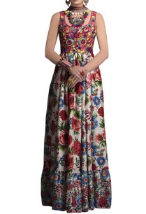 multicolored-embroidered-printed-gown