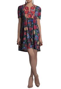 multicolored-embroidered-printed-tunic