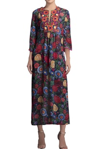blue-floral-printed-tunic
