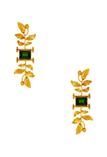 suhani-pittie-tribal-leaf-earrings
