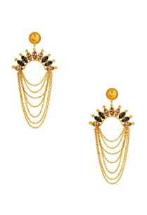 gold-plated-crystal-earrings