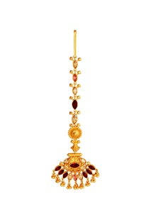 gold-plated-maangtikka-with-red-white-crystals