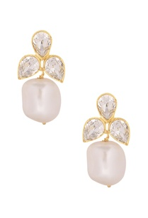 pearl-cluster-earrings