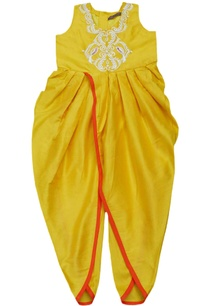 marigold-embroidered-dhoti-jumpsuit