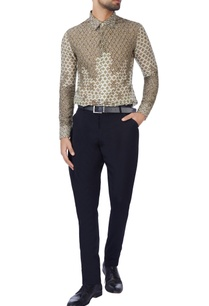 beige-printed-embroidered-shirt