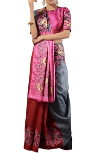 multi-color-thread-work-kora-silk-sari-with-blouse