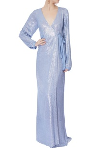 baby-blue-sequin-wrap-around-gown