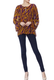 purple-mustard-yellow-stripe-blouse
