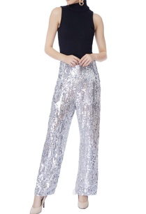 silver-sequin-embellished-pants