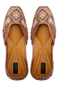 copper-leather-embellished-jootis