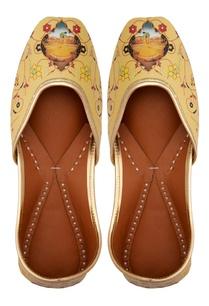 yellow-leather-printed-jootis