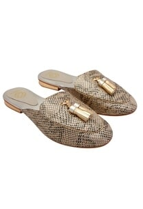 gold-snake-embossed-leather-mules