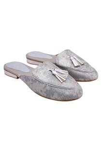 silver-snake-embossed-leather-mules
