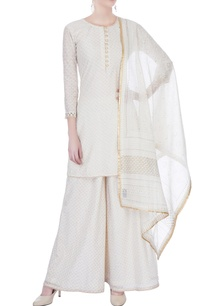 off-white-chanderi-kurta-with-sharara-pants-dupatta
