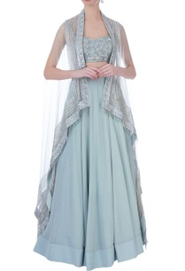 mint-green-net-georgette-embroidered-jacket-with-long-skirt-bustier