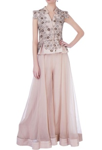 onion-pink-organza-silk-embellished-blouse-with-sharara