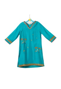 blue-cotton-silk-kurta-set