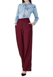 blue-cotton-hand-woven-shirt