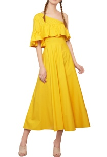 dandelion-yellow-ruffled-dress