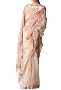pink-bugle-beadwork-sari