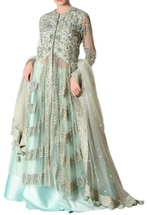 blue-green-applique-lehenga-set-in-tulle-crepe