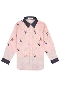 blue-pink-bird-motif-shirt