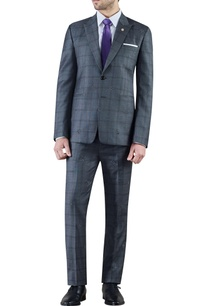 grey-checked-worsted-wool-dinner-jacket-with-trousers