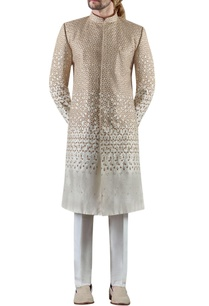 off-white-embroidered-raw-silk-sherwani-set