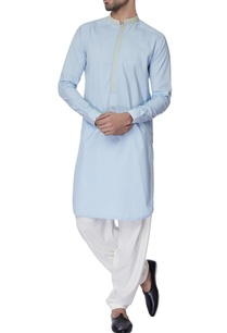 light-blue-resham-work-cotton-kurta