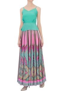 multicolored-ming-crepe-silk-kaleidoscopic-skirt