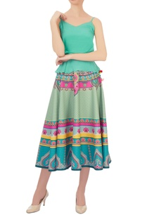blue-pink-kaleidoscopic-taffeta-silk-circular-skirt