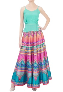 orange-pink-stripe-dupion-silk-maxi-skirt