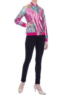 pink-blue-metallic-lurex-bomber-jacket