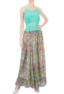 multicolored-floral-printed-maxi-skirt