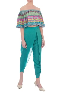 green-crepe-silk-tulip-pants