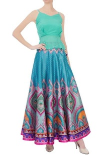multicolored-dupion-silk-maxi-skirt