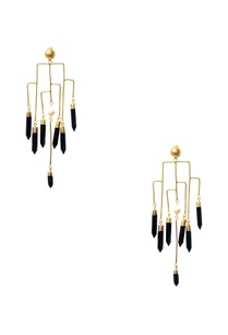 gold-plated-spike-statement-earrings