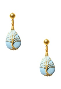 turquoise-stone-tree-of-life-earrings