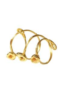gold-plated-shiny-druzy-cuff