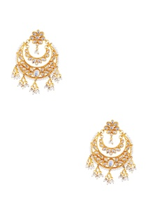 gold-micron-finish-earrings-with-faux-pearls