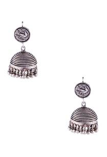 antique-silver-jhumka-earrings