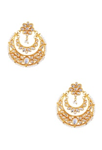 gold-kundan-circular-earrings-with-faux-pearls