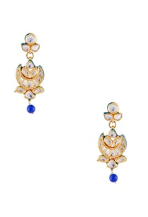 blue-tiered-bead-necklace-with-earrings