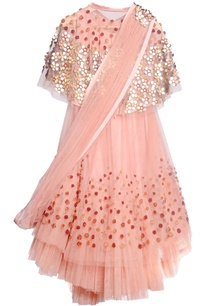 peach-tulle-taffeta-crepe-embroidered-lehenga-set