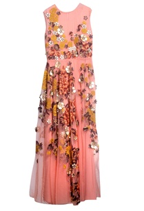 peach-tulle-crepe-embroidered-dress