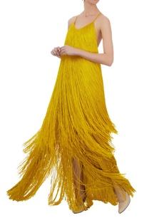 mustard-tassel-1920s-slip-gown