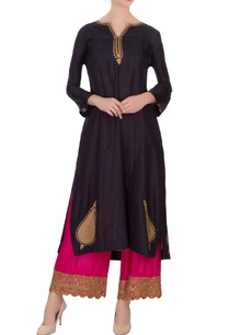 navy-blue-silk-embroidered-kurta